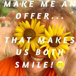 Make me an offer that makes us both smile!😁